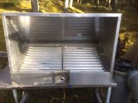Stainless steel extraction cabinet