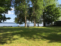 Exceptional Waterfront Lot Available in the Kawarthas