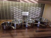 Jamie Oliver Pots and Pans (make me an offer)