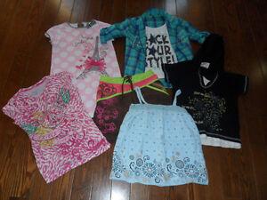 Lot vêtements été fille 8 ans (13 morceaux)