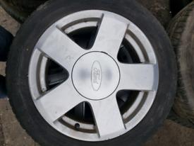 Set of Ford fiesta alloy wheels rim 15 inch