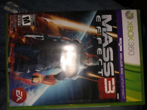 Xbox360 game Mass Effect 3