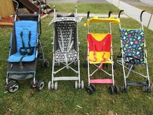A S S O R T E D   umbrella  STROLLERS  from $10.00 & UP!