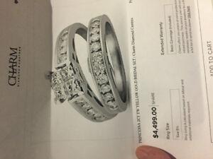 Bridal ring set  SAVE SAVE