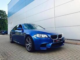 2015 65 reg BMW M5 4.4 M DCT Monte Carlo Blue + HUGE SPEC + 1 OWNER + 13k miles
