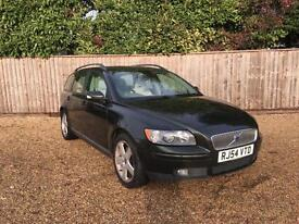 Volvo V50 2.0D DIESEL SE Manual Estate Green 2004