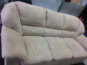 Microfibre couch London Ontario image 1