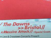 Massive Attack Downs Bristol 03/09/16 Tickets