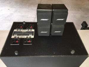 BOSE AM-5 ACOUSTIMASS  Speakers & Stands