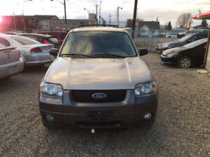 2007 FORD ESCAPE FULLY LOADED...4X4 ...VERY CLEAN Edmonton Edmonton Area image 2