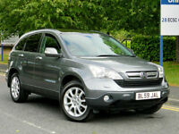 2009 59 Honda Cr-V 2.2 i-CDTi EX Station Wagon 5dr WITH FSH+MEGA SPEC!+STUNNING!