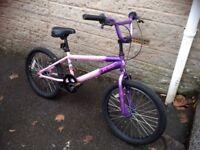 """Girls BMX bike 16"""""""