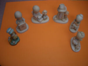 (6) PRECIOUS MOMENTS FIGURINES FOR SALE London Ontario image 1