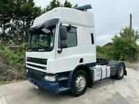 2008 DAF CF TRACTOR UNIT SLEEPER CAB MANUAL GEARS AIR-CON DIFF LOCK EXCELLENT