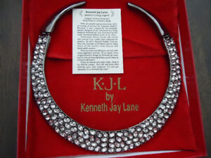 Collectible Kenneth Jay Lane collar