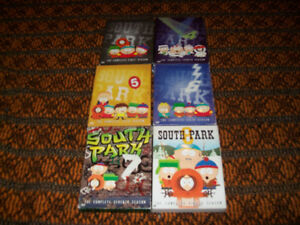 South Park dvd TV season lot of 7 & Imaginationland movie
