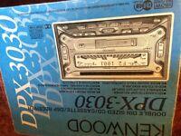 Kenwood DVD cd cassette player