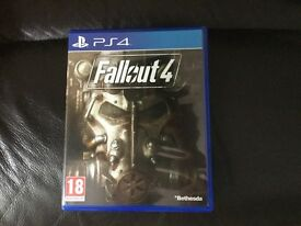 Fallout 4 PS4 excellent condition