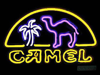 Camel Neon Sign Store Display Beer Bar Pub Mancave Real Neon Light Custom Z210