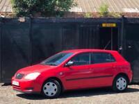 * TOYOTA COROLLA 1.6 VVT-i AUTO T2 5 DOOR + AUTOMATIC + LONG MOT + CLEAN CAR *