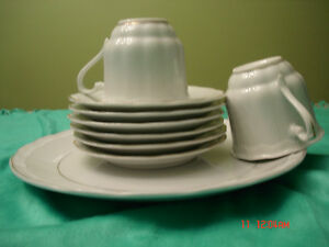 Tea Cup Set with Plate