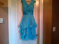 Size 6 Pool Blue bridesmaid or party dress