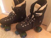 Raptor roller skates !