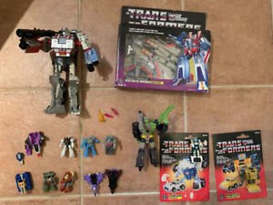 G1 transformers, Siege, titans return and a few others