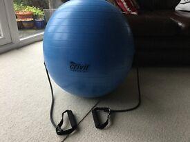 Exercise / Yoga / Swiss ball