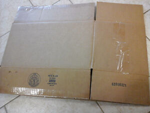Moving boxes - various sizes available