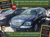 "Midnight Blue Pearl Pacifica - TEXT ""AUTO LOAN"" TO 519 567 3020"