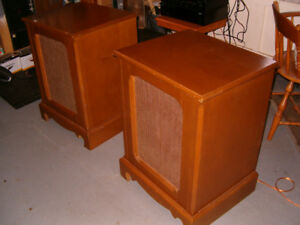 "SPEAKER CABINETS - 15"" FURNITURE GRADE (1 pair)"