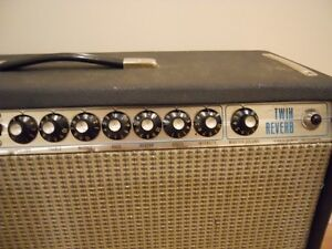 Vintage Fender Twin Reverb - '73 Silverface (moving in February) Kingston Kingston Area image 3