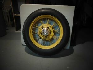 "Ford Model A 19"" rims and tires.  3 rims and tires included"