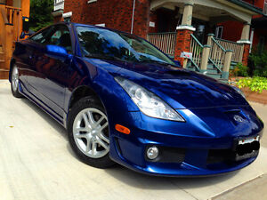 2005 Toyota Celica GT 5SPD - original owner, low km, 0 accidents