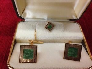 CUFF LINKS - VINTAGE 5 SETS- $25 A SET OR ALL FOR $100