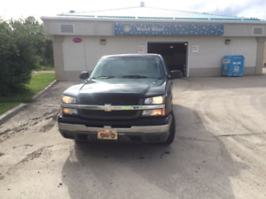 2003 Chev 1500 2 wheel drive or Trade for Snowmobile