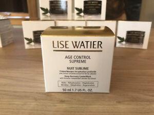 Crème Lise Watier Age Control Supreme (jour et nuit)