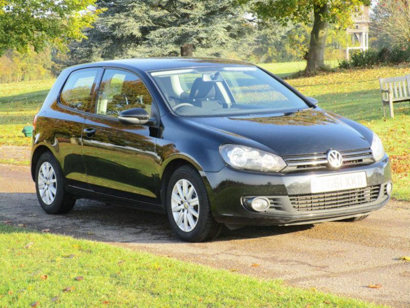 2011 (61) 3 door Volkswagen Golf 1.6TDI New MOT