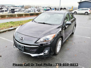 2012 Mazda Mazda3 GS-SKY Snow Tires Included