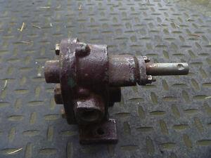 antique cast iron water pump
