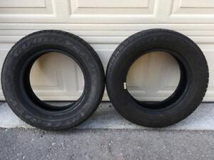 Set of 2 Goodyear Summer/All-Season Tires w/o rims!