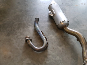 2009 YZ250F Exhaust System