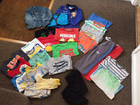 Boys Clothes Bundle 3-4 4-5 5-6 yrs