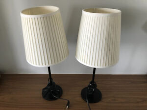 2 IKEA Lamps for Sale