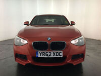 2012 62 BMW 116D M SPORT 5 DOOR HATCHBACK 1 OWNER BMW SERVICE HISTORY FINANCE PX
