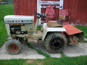 WANTED: OLD LAWN TRACTOR