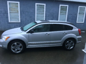 2007 Dodge Caliber Silver Hatchback