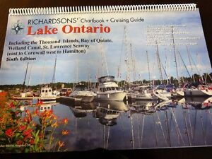 "Richardson's ""Lake Ontario Chartbook & Cruising Guide Kingston Kingston Area image 2"