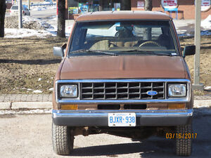 1986 FORD BRONCO II $2,000 As Is or $4,000 Certified